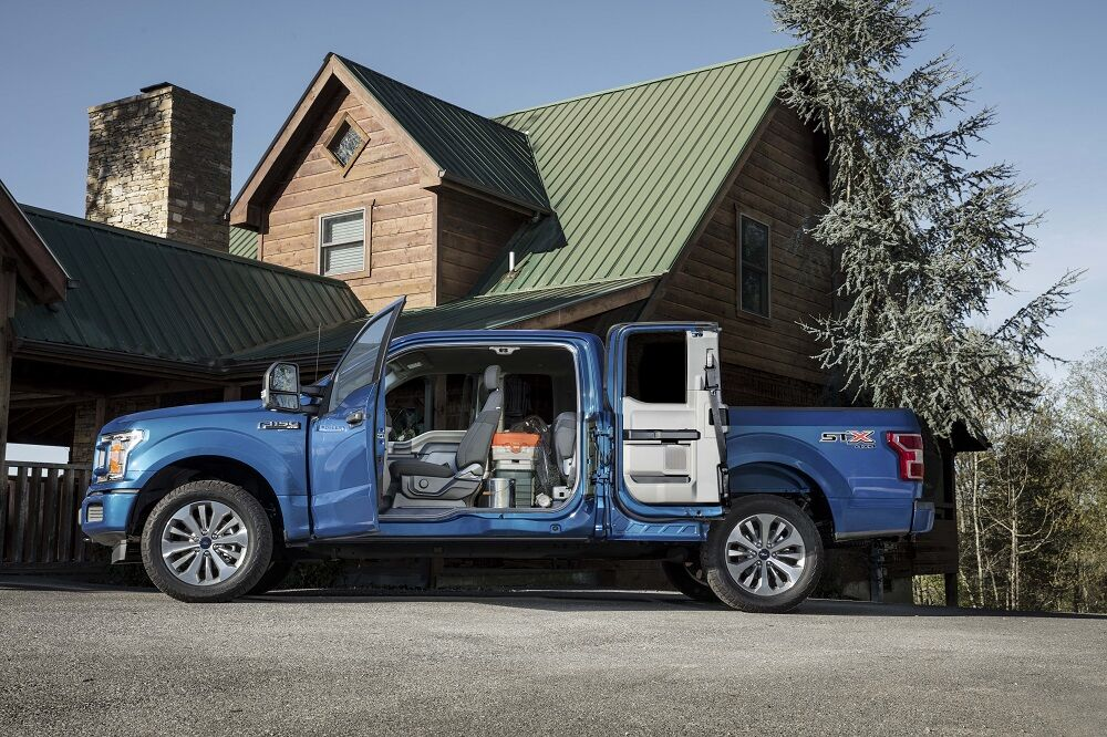 Ford F-150 Interior Safety Features