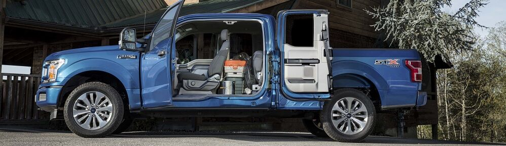 2018 Ford F-150 Blue Jeans Blue