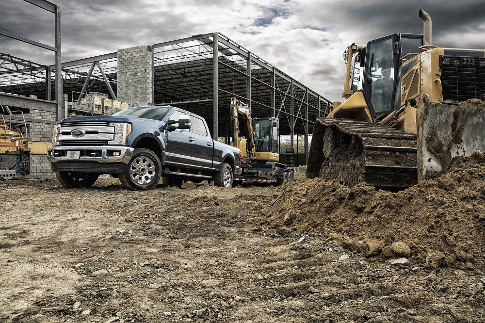 Ford F-250 Towing Features