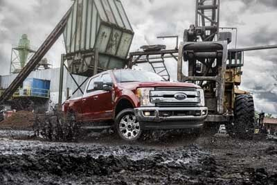 Ford F-250 Performance Features