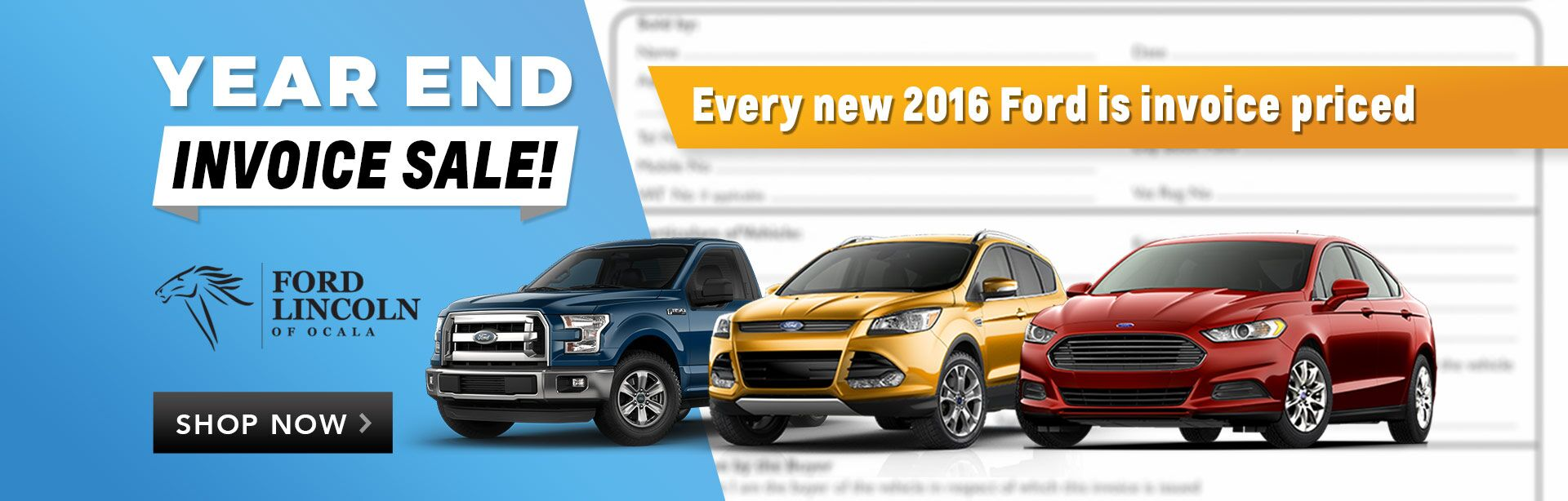 Ford Truck Dealers Near Me >> Year End Sale | Ford of Ocala