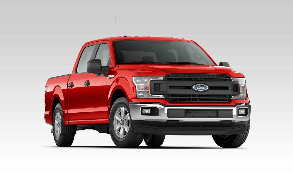 2019 Ford F-150 XL Red
