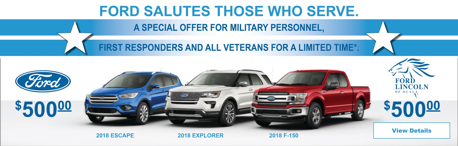 ford salutes