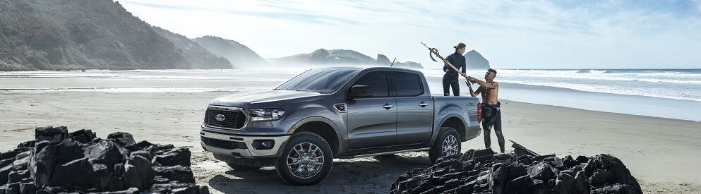 2019 Ford Ranger Gray