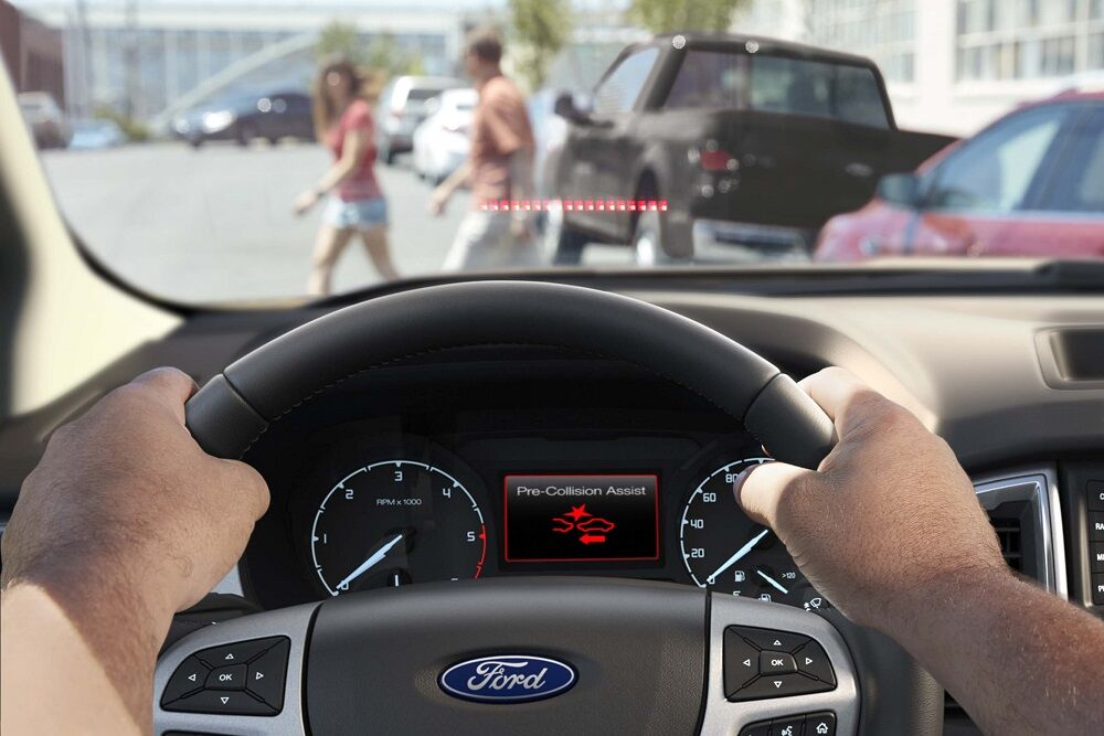 Ford Ranger Safety Technology