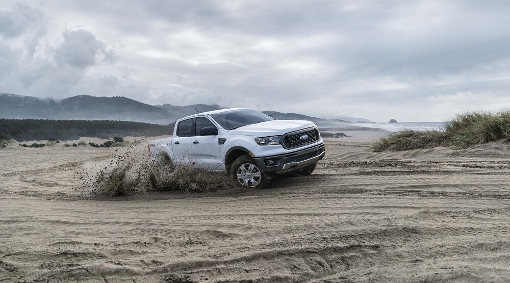 2019 Ford Ranger White