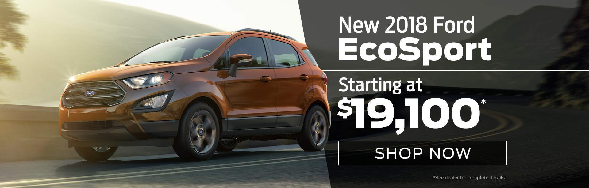 Introducing The New  Ford Ecosport At Ford Of Clermont