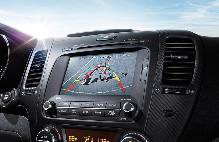 2016 Forte touchscreen display