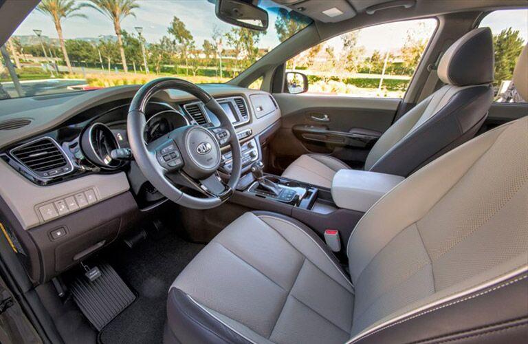 2016 kia sedona interior color options