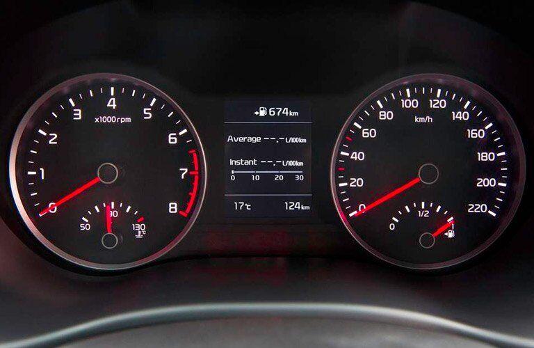 2017 Kia Rio Speedometer