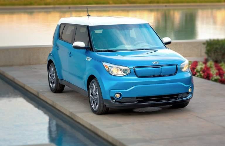2017 Kia Soul EV in Blue
