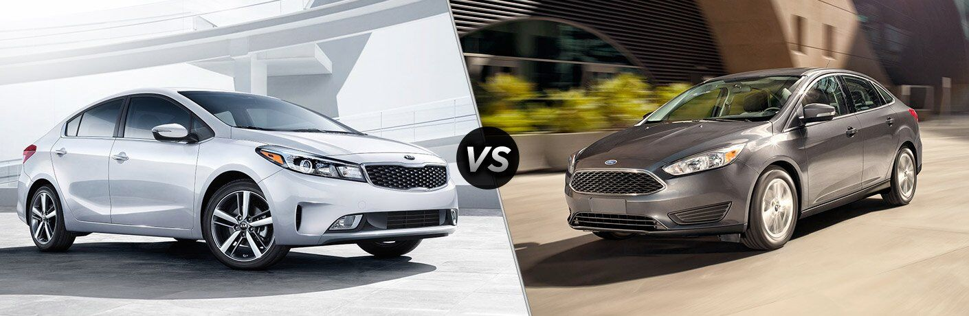 2017 Kia Forte vs 2017 Ford Focus