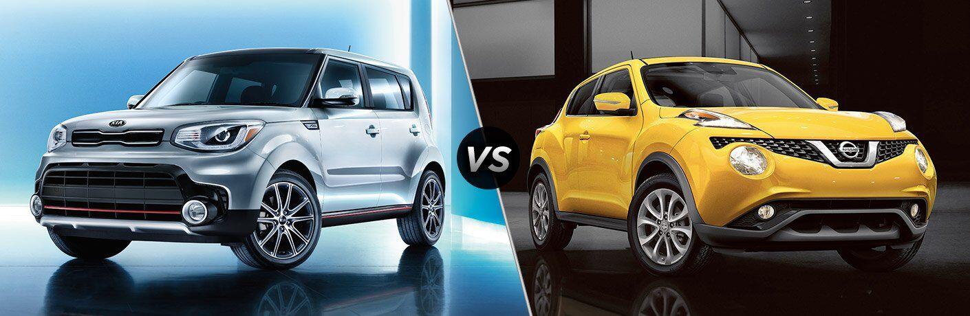 2017 Kia Soul vs 2017 Nissan Juke