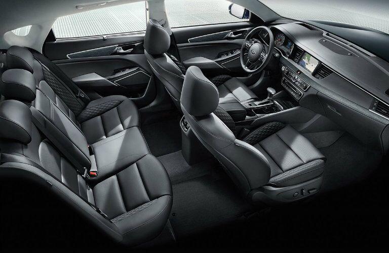 2017 Kia Cadenza Full Cabin Interior