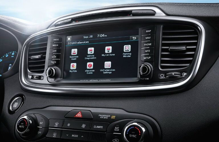 2016 Kia Sorento Apple CarPlay