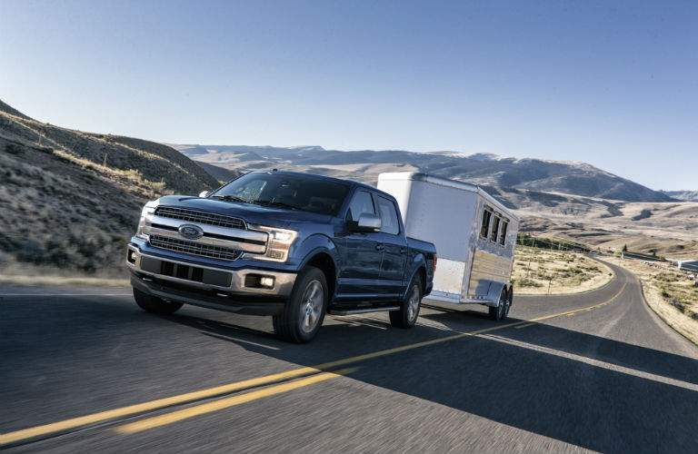 Many of the new features for the 2018 F-150 improve towing capability