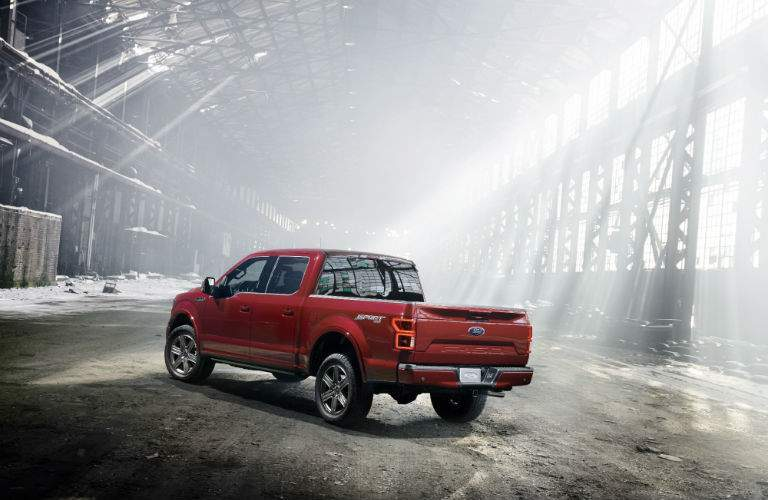 Military-grade aluminum alloy is used in building the 2018 F-150