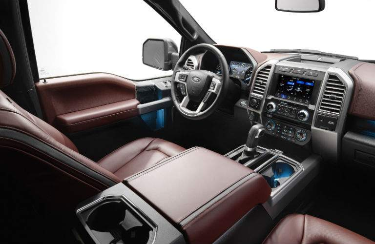 Apple and Android apps are supported by the Ford Sync 3 system
