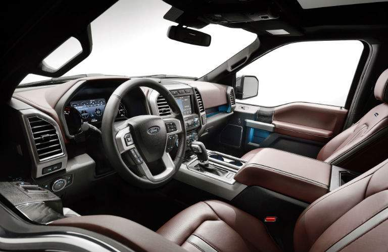 New interior options have been added to the 2018 F-150 lineup