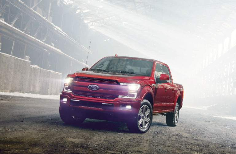 The 2018 F-150 carries the same bold stance as found previously