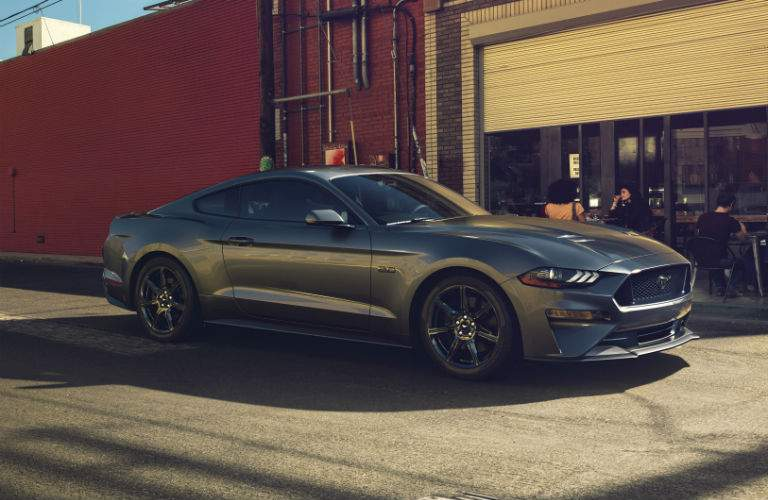 Changes have been made to front and rear of the 2018 Mustang