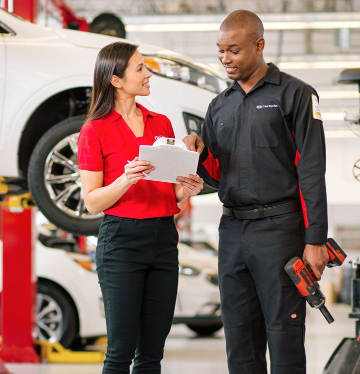 Complimentary Kia Multi-Point Inspection