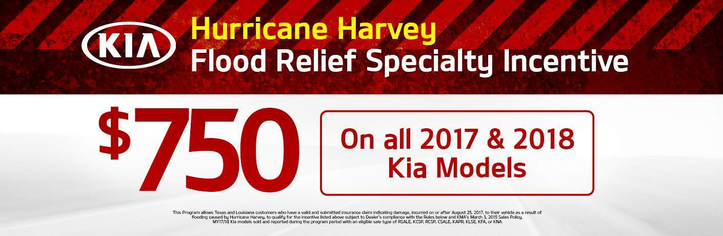 Flood Relief Incentive Moritz Kia