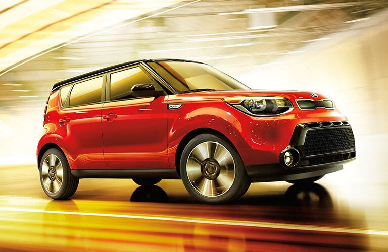 2017 Kia Soul in Red