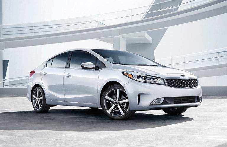 2017 Kia Forte in White