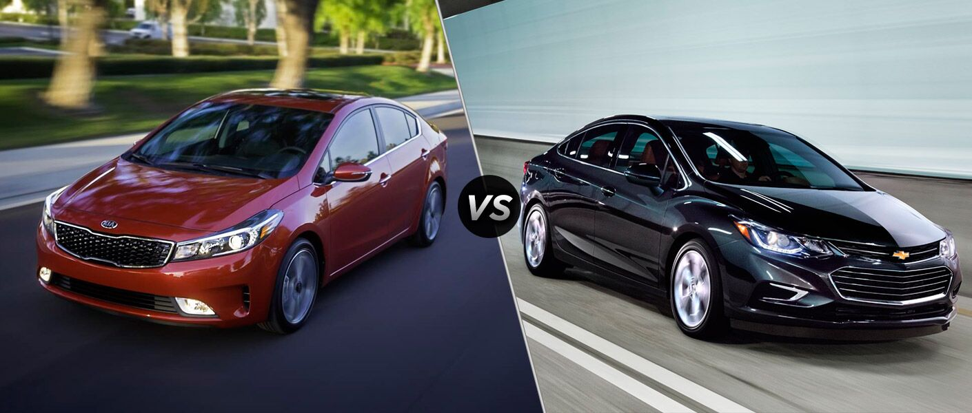 2017 kia forte vs 2017 chevy cruze