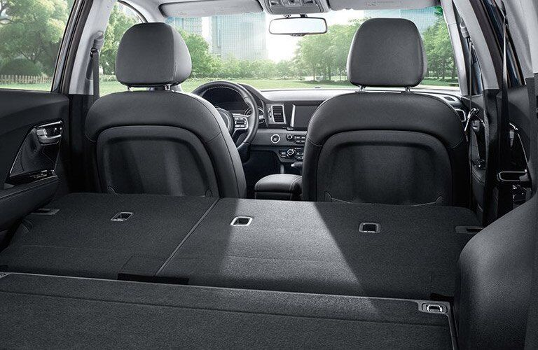 2017 Kia Niro Rear Cargo Space