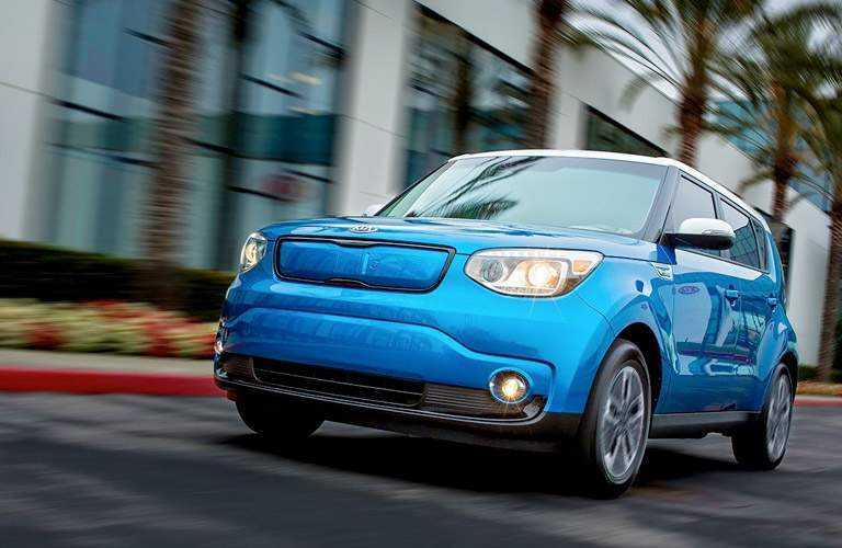 2017 Kia Soul EV in Blue