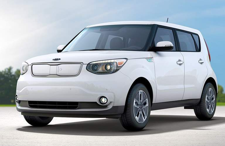 2017 Kia Soul EV in White