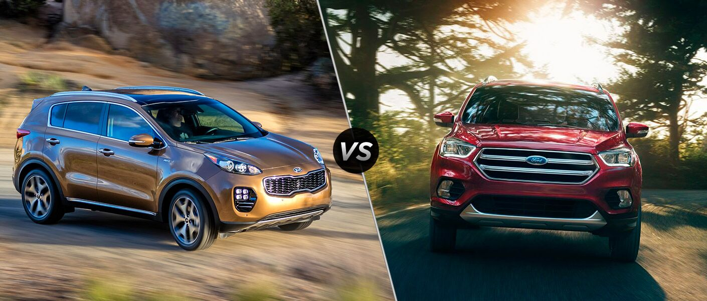 2017 kia sportage vs 2017 ford escape