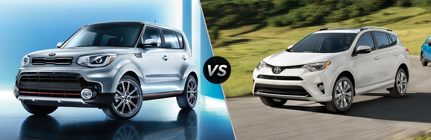 Moritz Kia Fort Worth >> 2017 Kia Soul vs 2017 Toyota RAV4