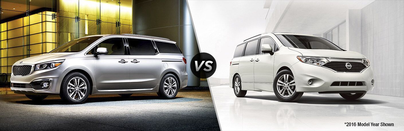 2017 kia sedona vs 2017 nissan quest