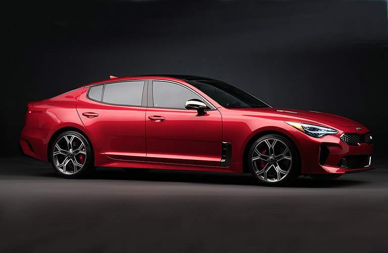 2017 Kia Stinger in Red