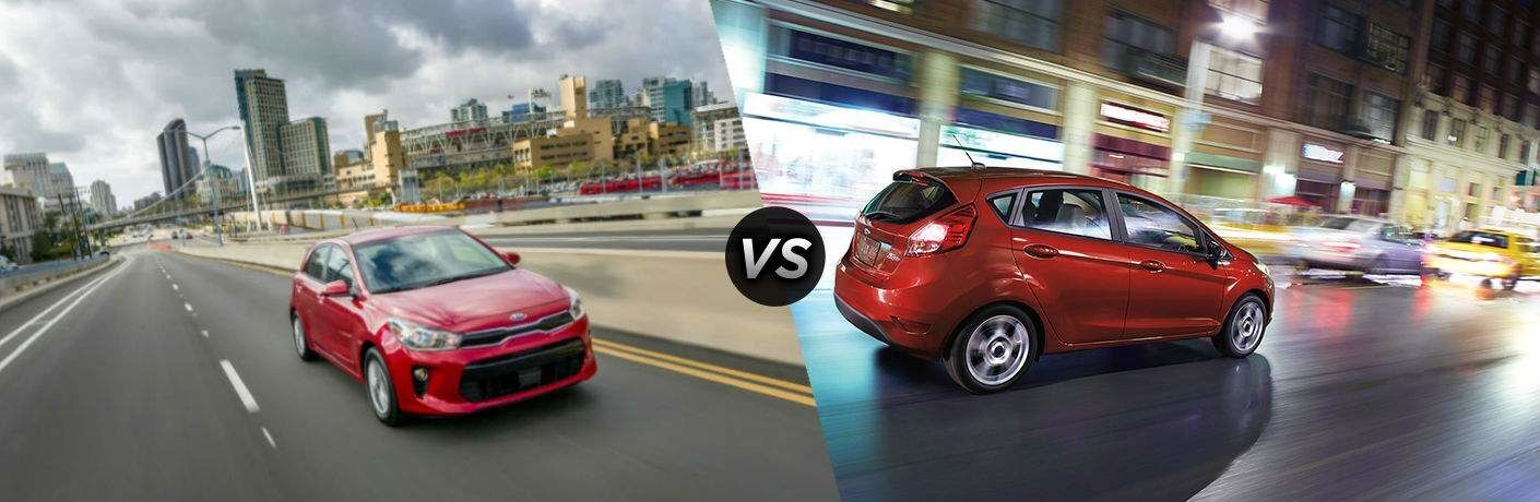 Moritz Kia Fort Worth >> 2018 Kia Rio 5-Door vs 2018 Ford Fiesta Hatchback