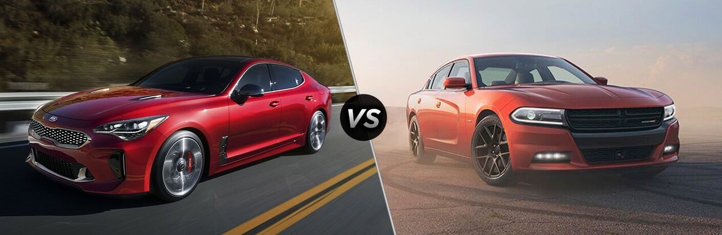 2019 Kia Stinger vs 2019 Dodge Charger