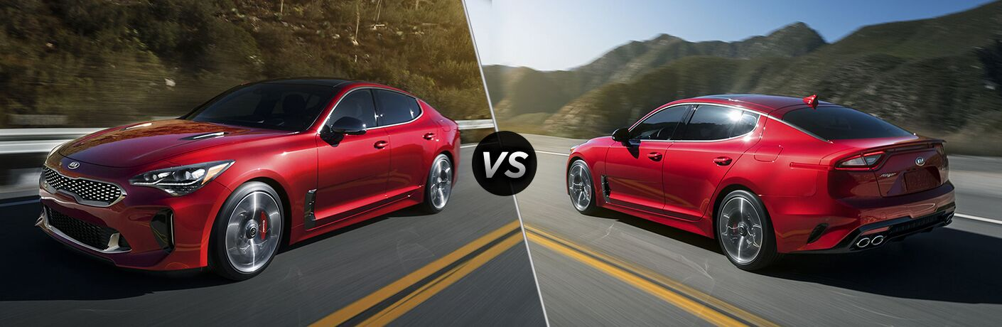 2019 Kia Stinger versus the 2018 Kia Stinger