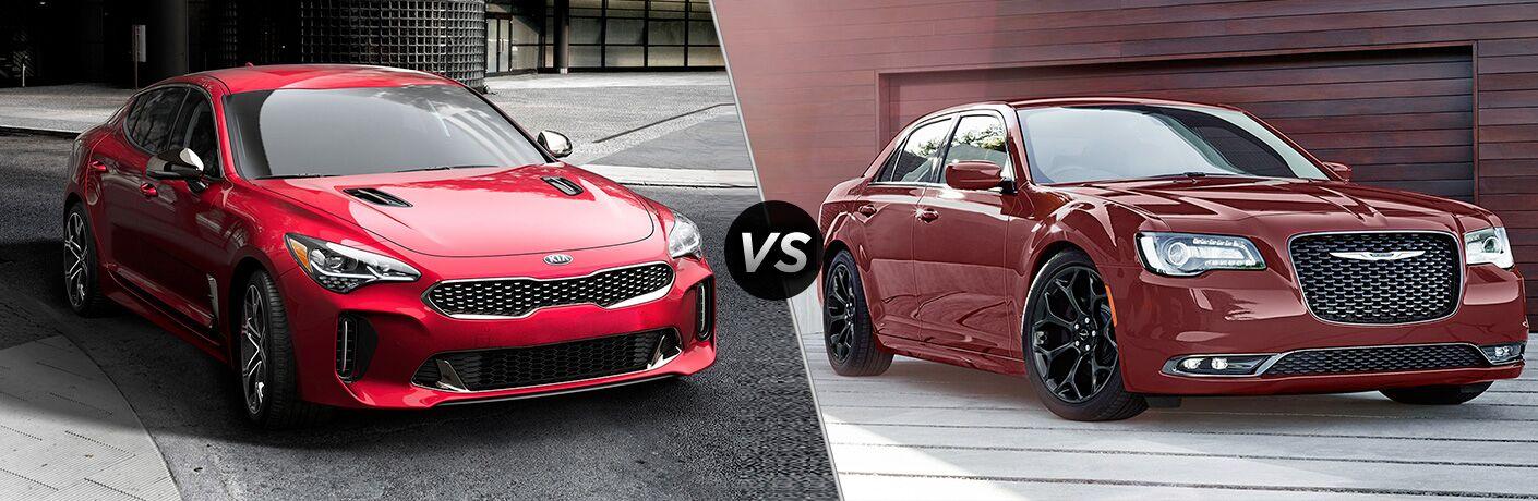 2019 Kia Stinger vs 2019 Chrysler 300