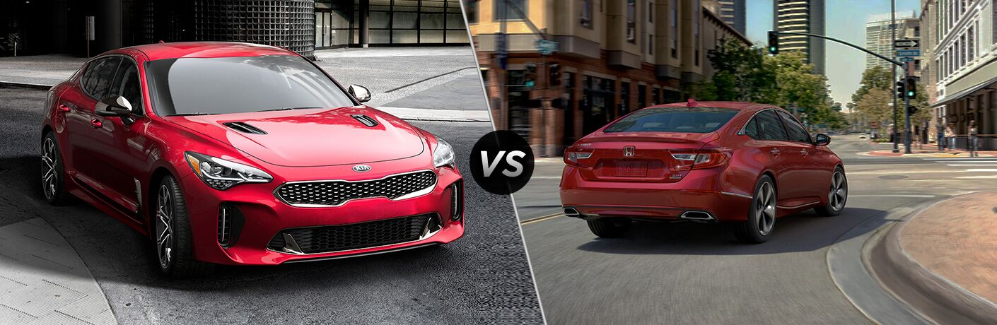2019 Kia Stinger vs 2019 Honda Accord