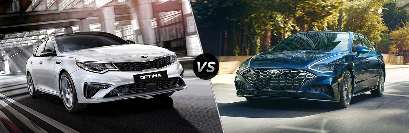 2020 Kia Optima vs 2020 Hyundai Sonata