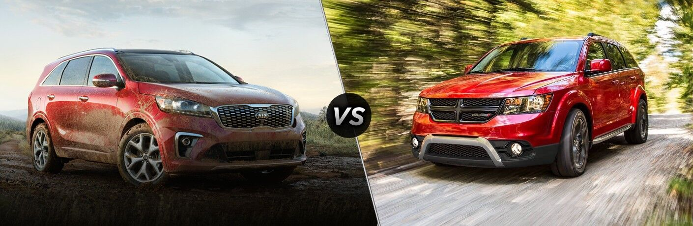 2020 Kia Sorento vs 2020 Dodge Journey