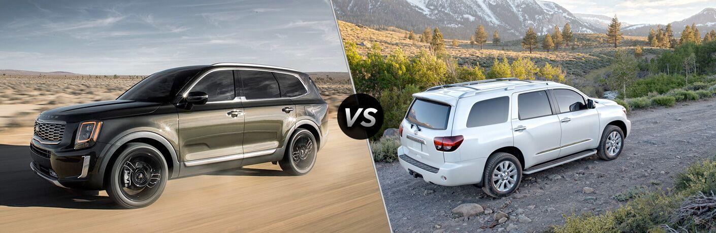 2020 Kia Telluride vs 2020 Toyota Sequoia