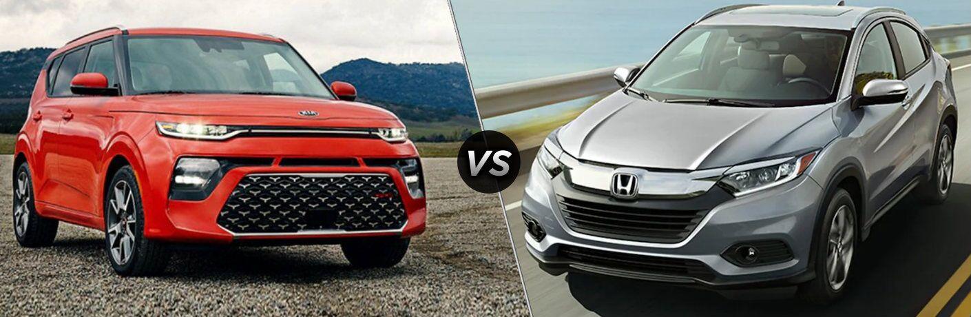 2020 Kia Soul vs 2020 Honda HR-V