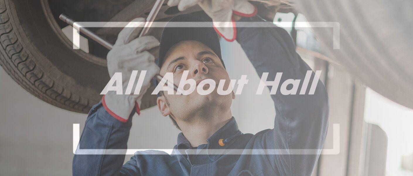 Service at Hall Automotive