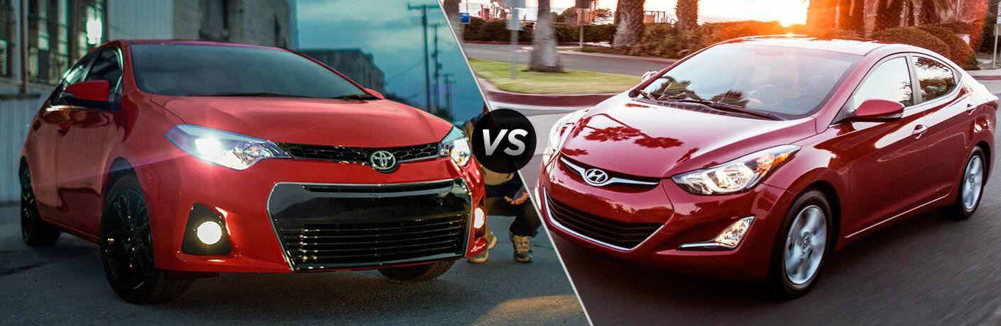 2016 Toyota Corolla vs 2016 Hyundai Elantra