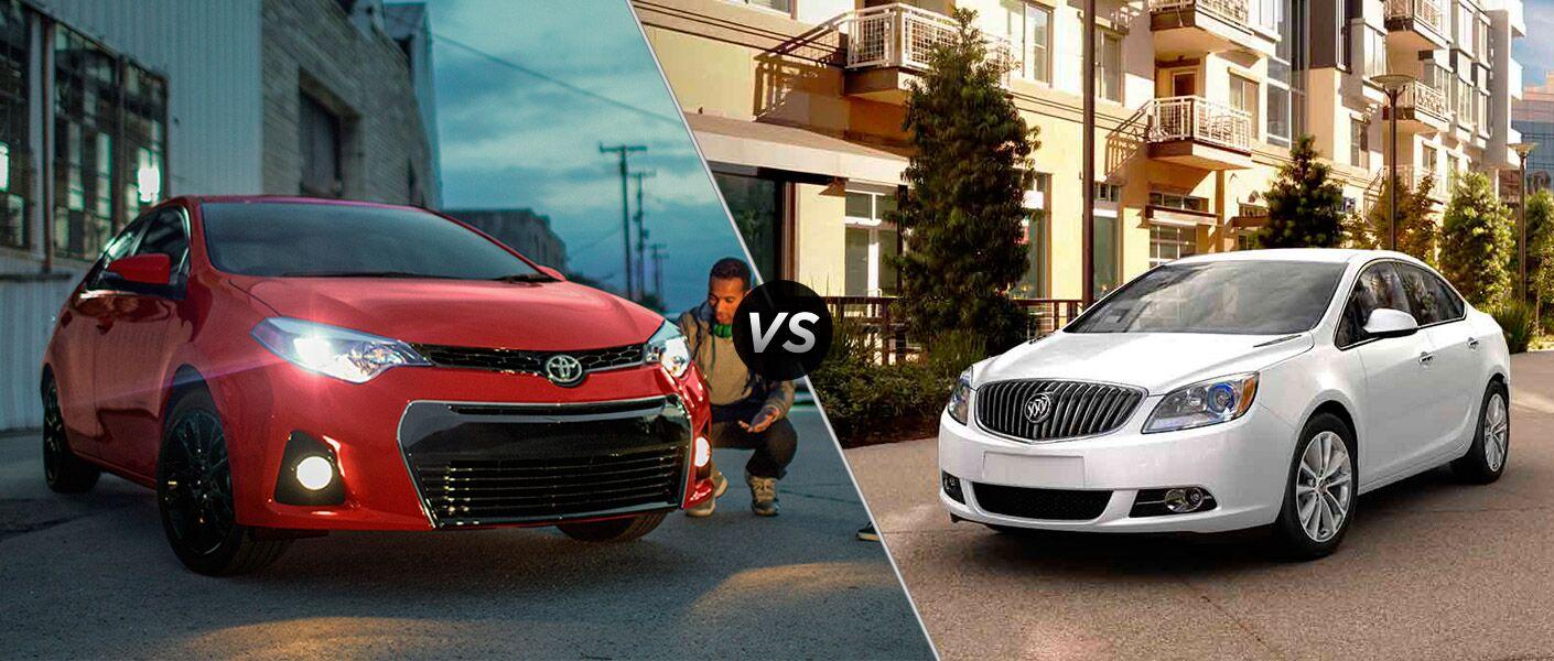 2016 Toyota Corolla vs 2016 Buick Verano