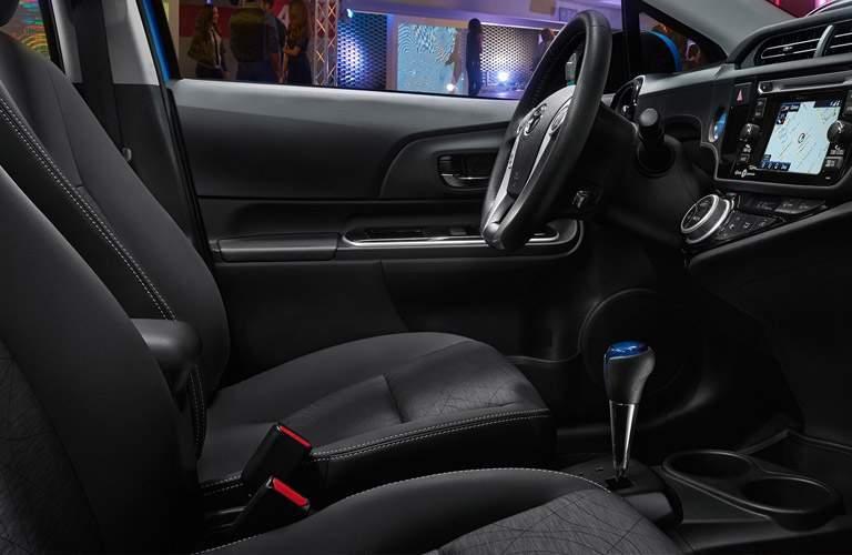 Prius c Front Seats